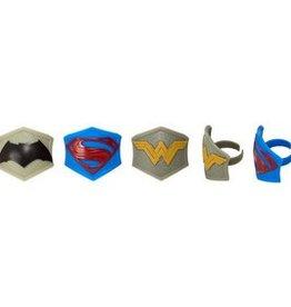 Decopac Batman vs. Superman Rings (12 per pkg)