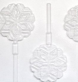 Snowflake Chocolate Sucker Mold