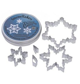 R and M Snowflake Cookie Cutter Set