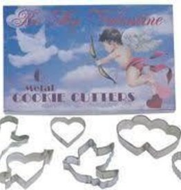 R and M Valentine Cookie Cutter Set