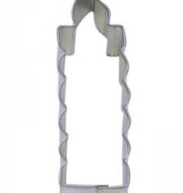 "R and M Candle Cookie Cutter (4"")"