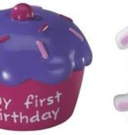 Decopac Cupcake Keepsake Cake Topper (Pink)