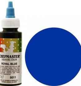 Royal Blue Chefmaster Liqua-gel 2.3 ounce