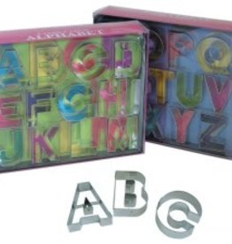 R and M Deluxe Alphabet Cookie Cutter Set