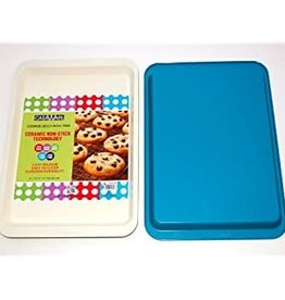 Casa Ware Cookie/Jelly Roll Pan 9x12.5 (Blue)