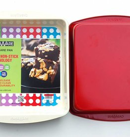 """Casa Ware Square Pan 9"""" (Red)"""