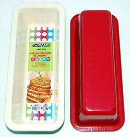 Casa Ware Loaf Pan 9x5x2 (Red)