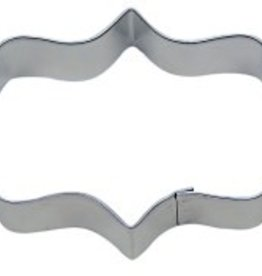 """R and M Elongated Plaque Cookie Cutter 4.75"""""""