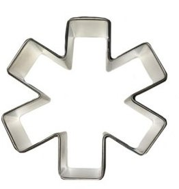"""R and M Asterisk/Medical Symbol Cookie Cutter 3"""""""