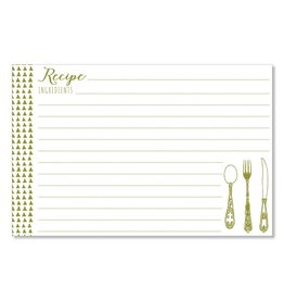 CR Gibson 4x6 Recipe Cards (Yummy Triangles)