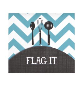 CR Gibson Cookbook Page Flag Set (Kitchen Gear)