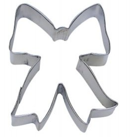 "R and M Bow Cookie Cutter (3.5"")"