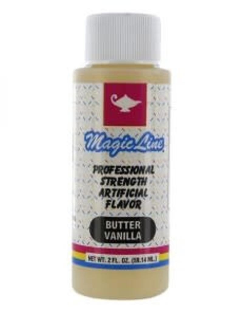 Parrish / Magic Line Butter Vanilla Flavoring (2 oz.)