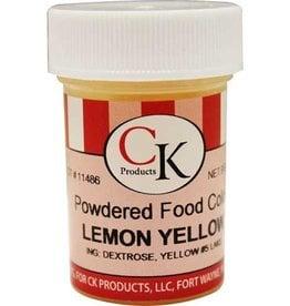 Yellow (Lemon) Powder Food Coloring (9 Grams)