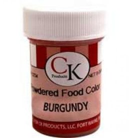Burgundy Powder Food Coloring (9 Grams)
