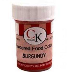 Burgundy Powder Food Coloring (9 Grams)