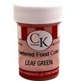 Leaf Green Powder Food Coloring (9 Grams)
