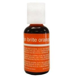 Neon Brite Orange Chefmaster Liqua-Gel 3/4 oz.