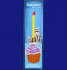Basic Spirit Birthday Candle Holder (Cat)