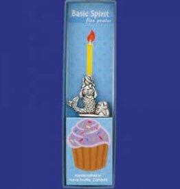 Basic Spirit Birthday Candle Holder (Mermaid)