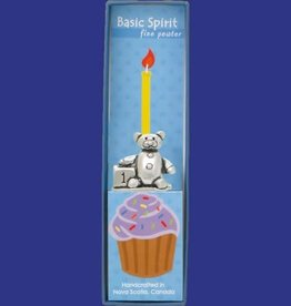 Basic Spirit Birthday Candle Holder (Teddy)