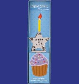 Basic Spirit Birthday Candle Holder (Make A Wish)