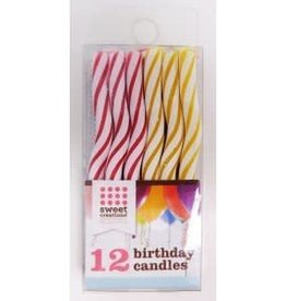 Sweet Creations Birthday Candles (Wavy)