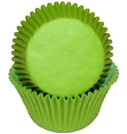 CK Green (Lime) Baking Cups (30-40ct)