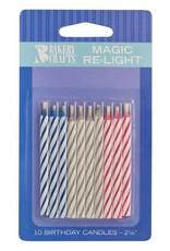 Decopac Magic Re-Lighting Candles - 10ct