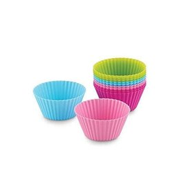 Fox Run Silicone Baking Cups (Neon)