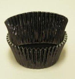 CK Black Foil Baking Cups (approx 30ct) MAX TEMP 325F