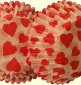 Auction Red Heart Candy Cups
