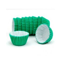 "CK Green Candy Cups (1 3/8"") 60-75/pkg"