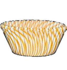 CK Yellow Stripe Baking Cups