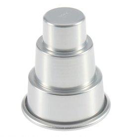 Parrish / Magic Line 3 Piece Mini Round Tier Cake Pan Set