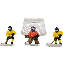 Decopac Hockey Face-Off Cake Topper