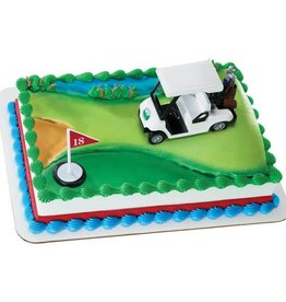 """Decopac Golf Cake Topper """"Heading for the Green"""""""