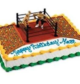 Deco Pack Wrestling and Ring Cake Topper