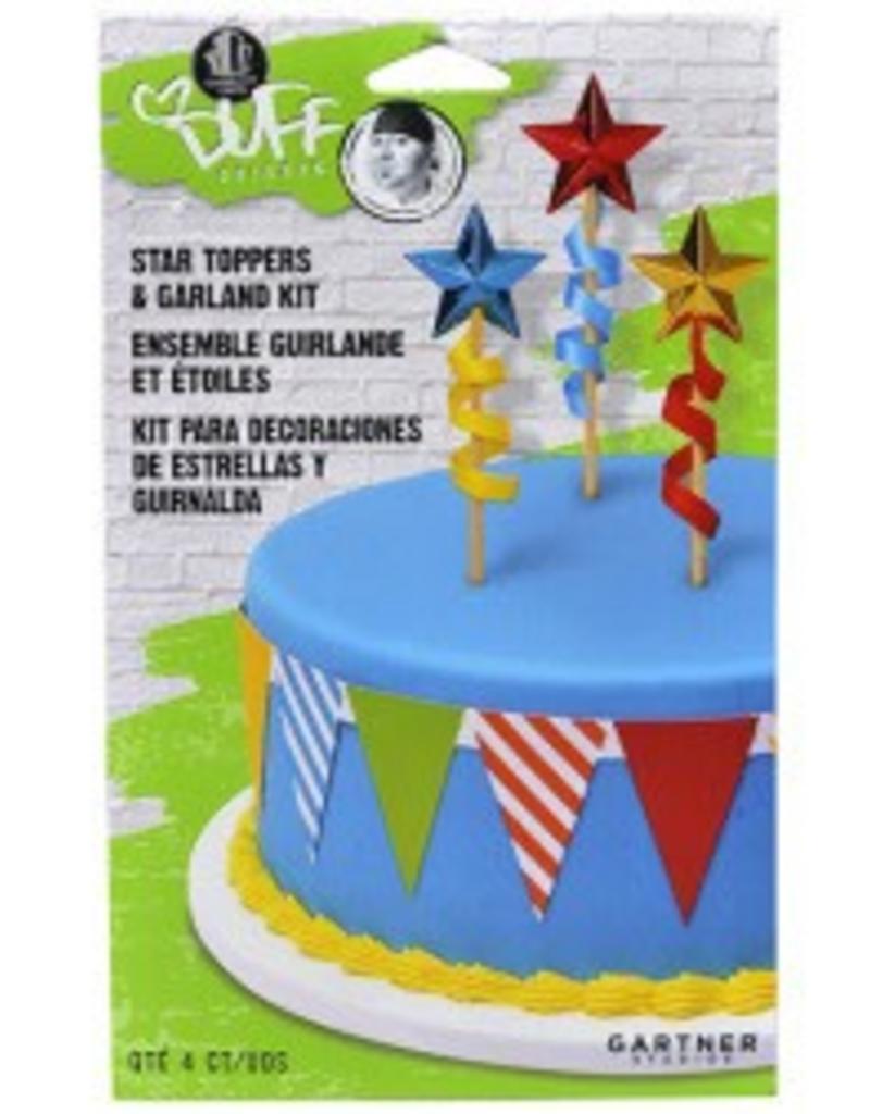 Duff Goldman Cake Topper Garland Kit Star Sweet Baking Supply