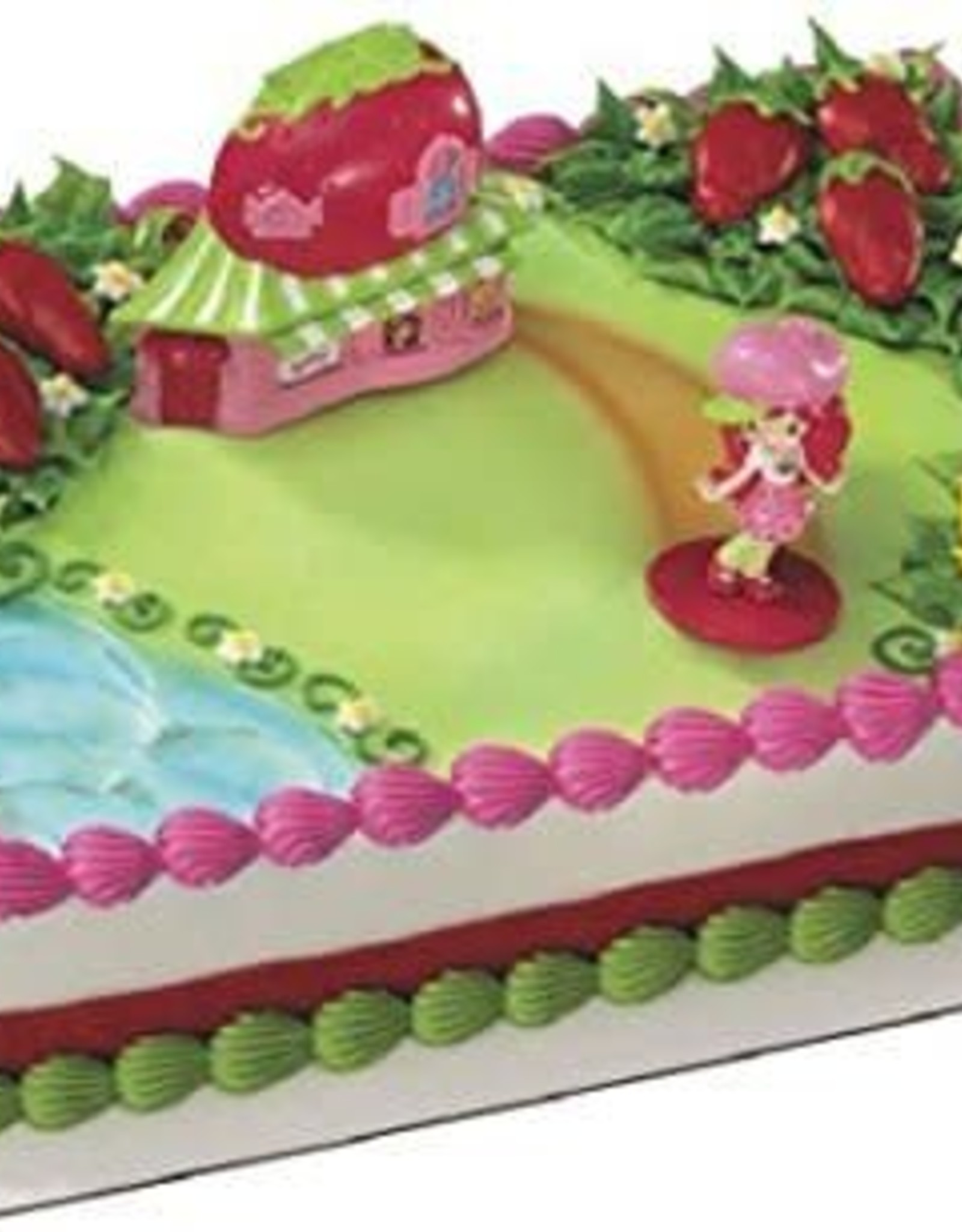 Fabulous Deco Pack Strawberry Shortcake Cake Topper Sweet Baking Supply Funny Birthday Cards Online Elaedamsfinfo