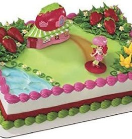 Deco Pack Strawberry Shortcake Cake Topper
