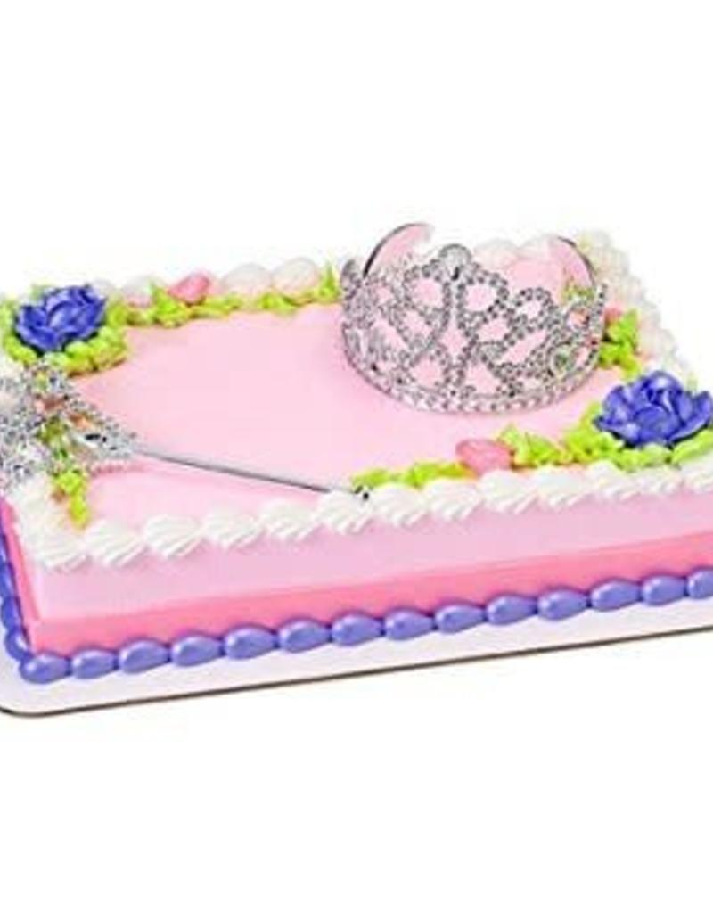 Decopac Crown and Scepter Cake Topper