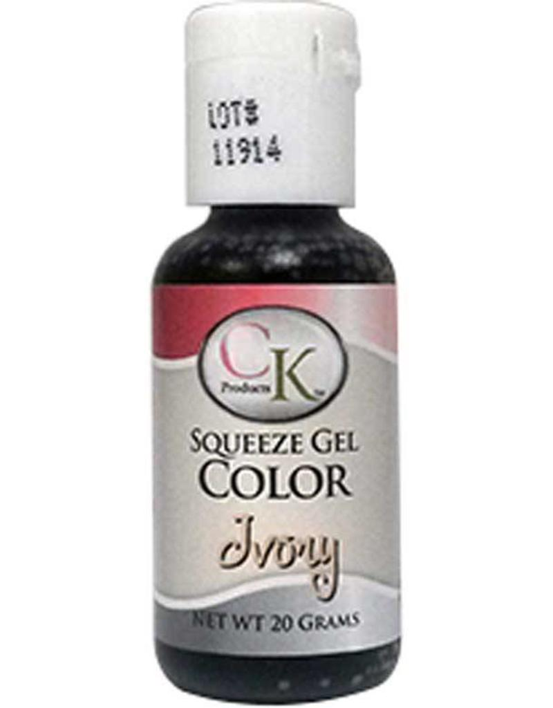 CK Products CK Gel Color 20G - (Ivory) - Sweet Baking Supply