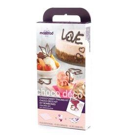 Mastrad Choco' Deco Tracing Kit