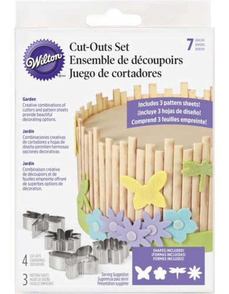 Wilton Cut-Outs Set (Garden)