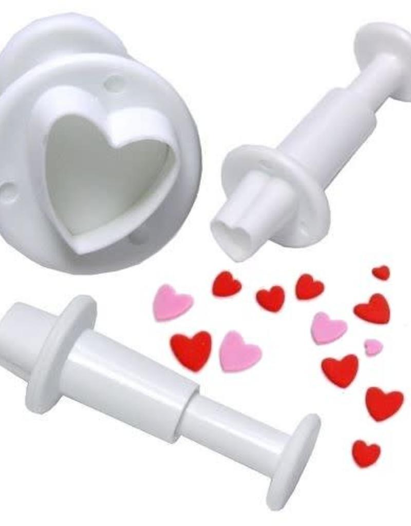Heart Fondant Cutters (3pc.)
