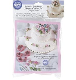 Wilton Rose Bouquet Flower Cutter Set