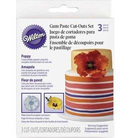Wilton Cut-Outs Set (Poppy)