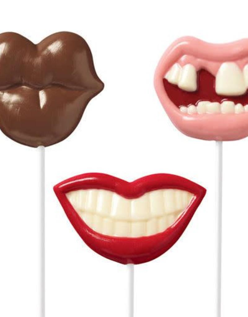 Wilton Mouth Chocolate Sucker Candy Molds