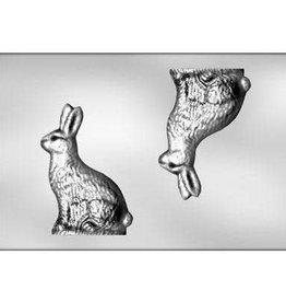 "CK 3-D Rabbit Chocolate Mold (8"")"
